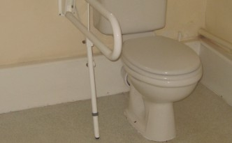 Disabled Adaptations - Toliet Grab Rail